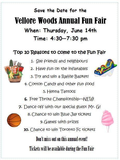Fun Fair Flyer